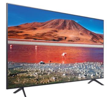 "TV LED 58"" SAMSUNG 4K UE58TU7172 SMART TV EUROPA BLACK"