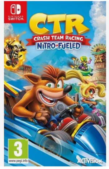 GIOCO NINTENDO SWITCH CRASH TEAM RACING NITRO FUELED NINTENDO UE