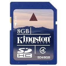 Le schede Secure Digital High-Capacity (SDHC) di Kingston Technology sono pienamente compatibili con la nuova specifica SDA