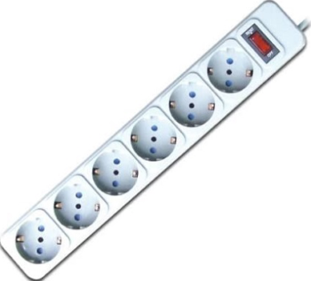 MULTIPRESA 6 PRESE SHUKO TECHMADE SL3006