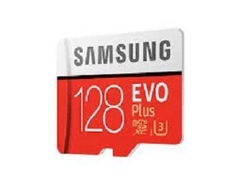 MEMORY CARD MICRO SD/TRANSFLASH 128GB SAMSUNG CLASSE 10 MB-MC128GA.