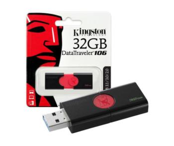 MEMORIA USB 32GB 3.1 KINGSTON