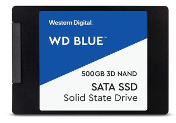 """WD Blue 3D NAND SATA SSD Unità allo Stato Solido Interna 2.5"""""""