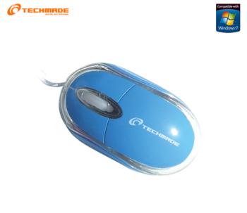 MOUSE OTTICO USB TECHMADE TM-2023-BL BLU