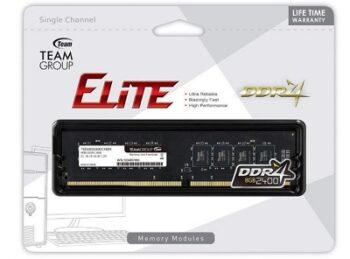 MEMORIA DDR4 2400 08GB TEAM GROUP ELITE