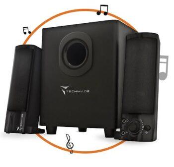 CASSE 2.1 TECHMADE TM-V2209U BLACK