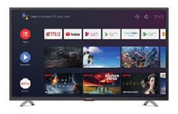 "TV LED 65"" SHARP 4K 65BL5E SMART ANDROID 9.0 ITALIA BLACK."