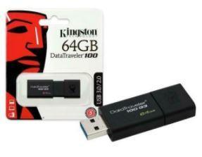 MEMORIA USB 64GB 3.0 KINGSTON.