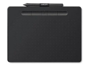 TAVOLETTA GRAFICA INTUOS MEDIUM BLUETOOTH WACOM CTL-6100WLKS BLACK.