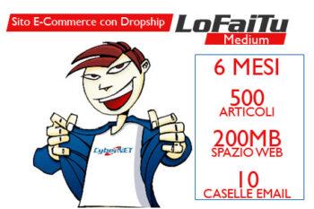 Sito e-commerce completamente personalizzabile con sistema Dropship!