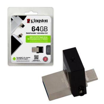 Kingston DTDUO3/64GB Chiavetta USB 64 GB