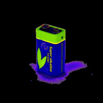 BATTERIA BLOC 9V TECHMADE EG-BA-6LR61-01