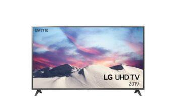 "TV LED 75"" LG 4K 75UM7110 SMART TV EUROPA BLACK"