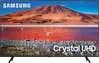 "TV LED 43"" SAMSUNG 4K UE43TU7072 SMART TV EUROPA BLACK"