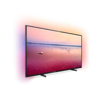 "TV LED 55"" PHILIPS 4K 55PUS6704/12 EUROPA BLACK"