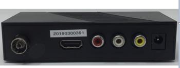 DECODER DIGITALE TERRESTRE DVB-T/T2 NORDMENDE ZAP11ND