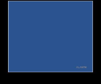 TAPPETINO MOUSEPAD ALANTIK MP26BL BLU