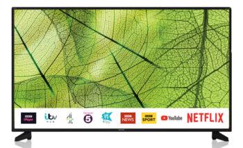 """TV LED 40"""" SHARP 4K 40BJ5E SMART TV ITALIA BLACK"""