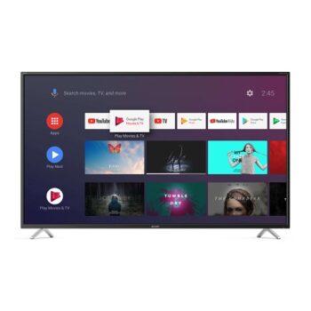"""TV LED 55"""" SHARP 4K 55BL2E SMART ANDROID 9.0 ITALIA BLACK"""