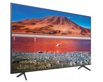 "TV LED 43"" SAMSUNG 4K UE43TU7102 SMART TV EUROPA BLACK"