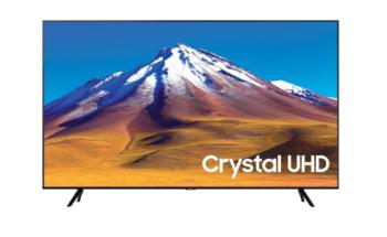 "TV LED 43"" SAMSUNG 4K UE43TU7092 SMART TV EUROPA BLACK"