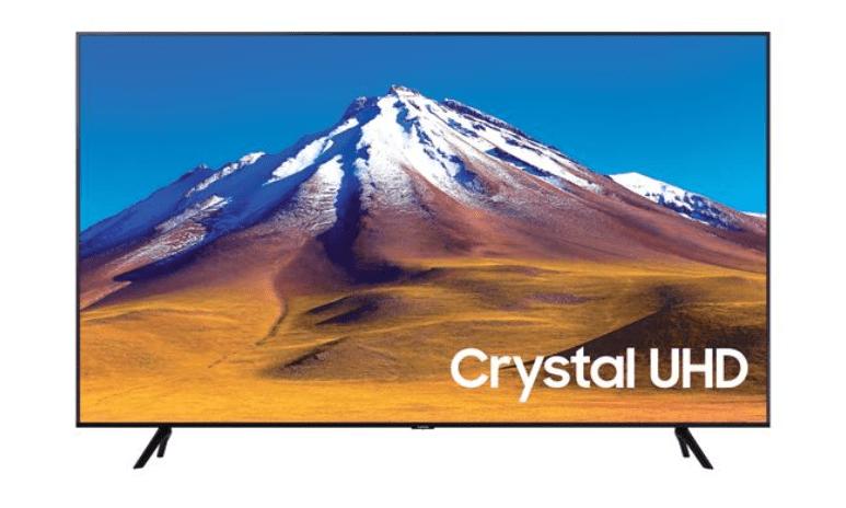 "TV LED 65"" SAMSUNG 4K UE65TU7092 SMART TV EUROPA BLACK"