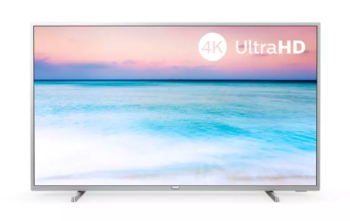 "TV LED 65"" PHILIPS 4K 65PUS6554/12 SMART TV EUROPA SILVER"