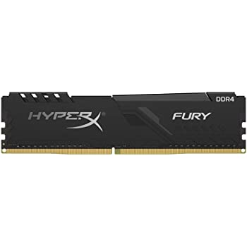 MEMORIA DDR4 2666 16GB KINGSTON HYPER X FURY BLACK HX426C16FB3/16