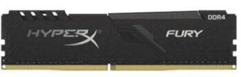 MEMORIA DDR4 3000 08GB KINGSTON HYPER X FURY BLACK HX430C15FB3/16