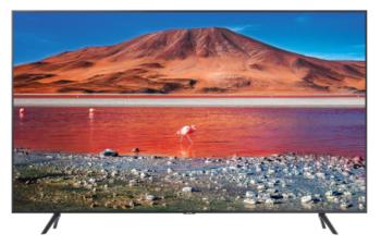 """TV LED 55"""" SAMSUNG 4K UE55TU7170 SMART TV ITALIA BLACK"""