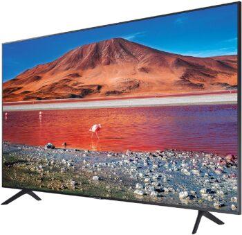 """TV LED 43"""" SAMSUNG 4K UE43TU7190 SMART TV ITALIA BLACK"""