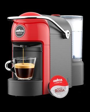 MACCHINA DA CAFFE' JOLIE PLUS LAVAZZA A MODO MIO 18000348 + 216 CAPSULE LAVAZZA QUALITA' ROSSA