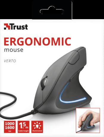 MOUSE ERGONOMICO TRUST VERTO 22885