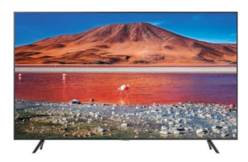 "TV LED 75"" SAMSUNG 4K UE75TU7092 SMART TV EUROPA BLACK"