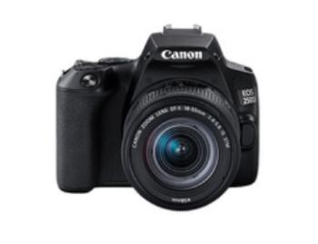 DIGITAL CAMERA REFLEX CANON EOS 250D + 18-55 STM BLACK