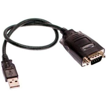 ADATTATORE DA USB2.0 A RS232 EWENT EW1116