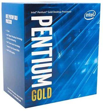 CPU INTEL LGA1151 PENTIUM DUAL-CORE GOLD G6400 BOX BX80701G6400