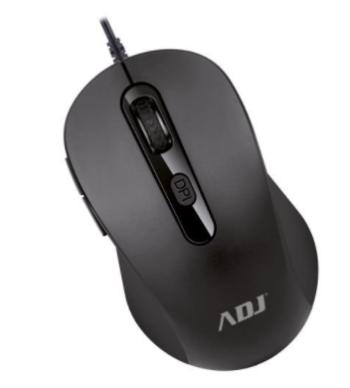 MOUSE OTTICO USB ASJ PURE EVO 510-00036 BLACK