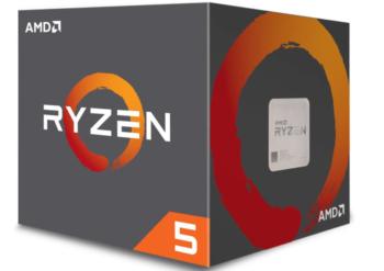 CPU AMD AM4 RYZEN 5 1600BOX YD1600BBAFBOX