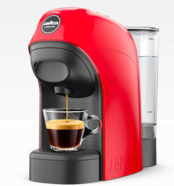 MACCHINA DA CAFFE' A MODO MIO LAVAZZA TINY LM800 ROSSO
