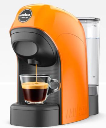MACCHINA DA CAFFE' A MODO MIO LAVAZZA TINY LM800 ARANCIO