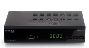 DECODER DIGITALE TERRESTRE HD DVB-T2 H265/HEVC WWIO DT2 TRINITY T2