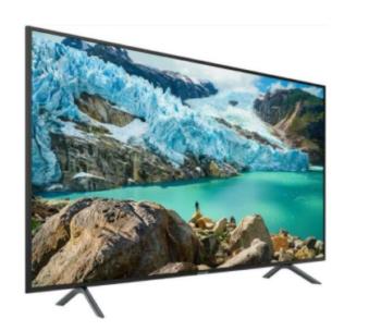 """TV LED 43"""" SAMSUNG 4K UE43TU7170 SMART TV ITALIA BLACK"""