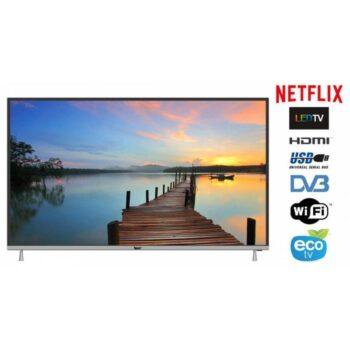 """TV LED 55"""" BLUE 4K 55BU800 SMART TV EUROPA BLACK"""