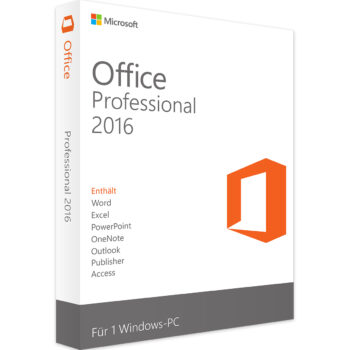 SOFTWARE MICROSOFT OFFICE 2016 PROFESSIONAL SOLO KEY