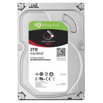 Hard disk interno Seagate Ironwolf 3tb nas