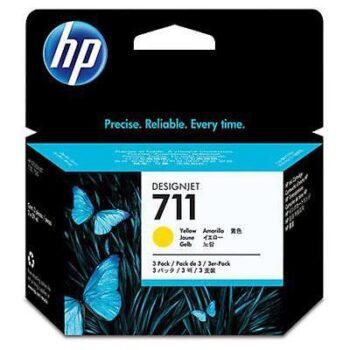 CARTUCCIA HP CZ136A YELLOW 29ML KIT 3PZ
