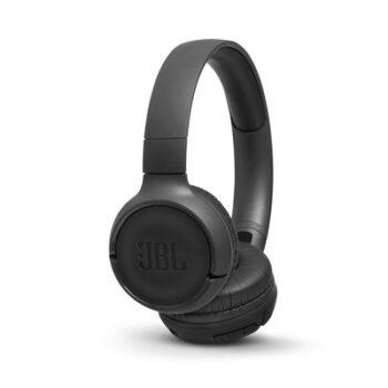CUFFIE WIRELESS ON-EAR JBL JBLT500BTBLK BLACK
