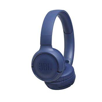 CUFFIE WIRELESS ON-EAR JBL JBLT500BTBLU BLU
