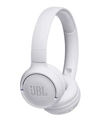 CUFFIE WIRELESS ON-EAR JBL JBLT500BTWHT WHITE